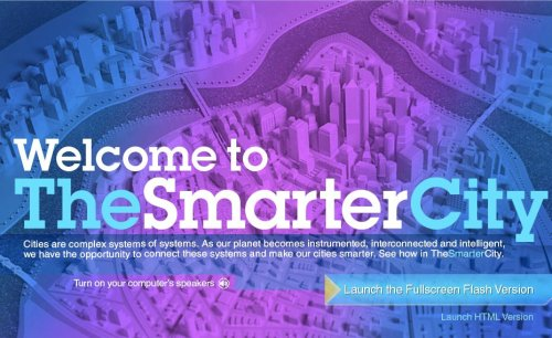 Vía @smartcities_es IBM - The Smarter City