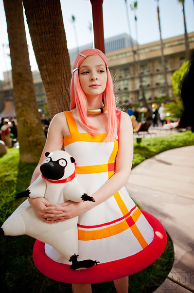 Myself as Anemone with Gulliver from Eureka 7 at ALA12 Photographer: Baron Karza