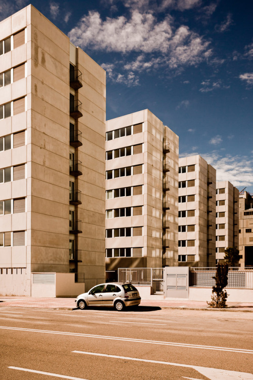 Trabajos / Works. Viviendas sociales / Social housing. Madrid. Spain.
