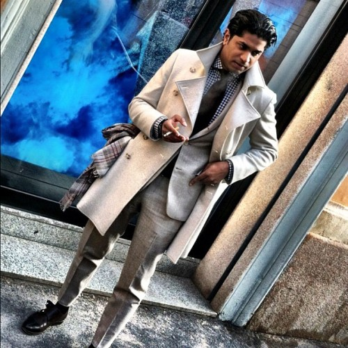 atifkazmi:  Milano style. @suitsupply (Taken with instagram)