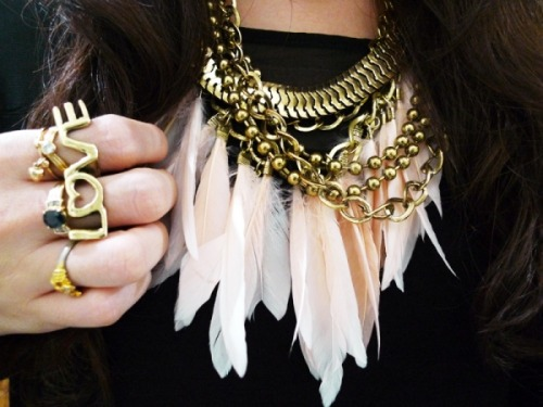 oursecretinspiration:  Feathers!