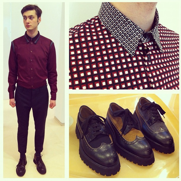 From shirts to shoes, it's all about contrast next season at MarniSee our current selection of MARNI on site now