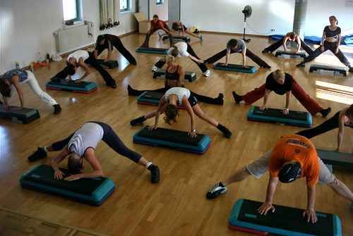 afightingfitfreshstart:  motivationforfitness:  Do you avoid group classes because you fear people judging your abilities? Stop worrying. Everyone is at a different level and everyone's best is different (so is everyone's personal worst.) Besides, everyone is too busy watching their own form (or looking down their own shirts, or starting at their own crotch) to notice if your toes are pointed or not. Just go, enjoy yourself, learn something new and get your sweat on!  ^ I need to get this through my head! I'm sure I'm not the only one that feels like everyone is looking at me and judging me.