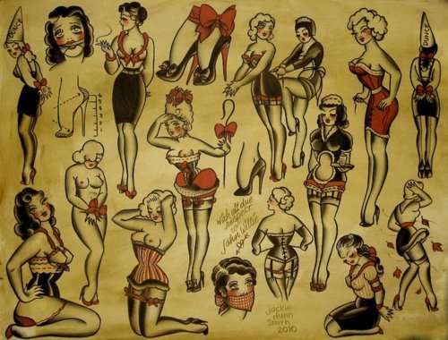 Pin up girls are the best