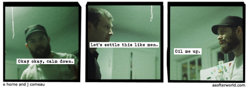 A Softer World: 761 (Joey, do you like movies about gladiators?)