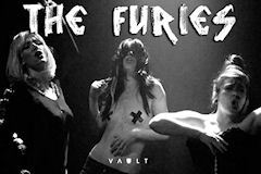 Kindle Theatre's The Furies unites theatre and live music, combining rock, metal and soul with text and poetry to retell the story of Clytemnestra – a woman betrayed - through the eyes of her band of Furies - VAULT Festival Feb 2012