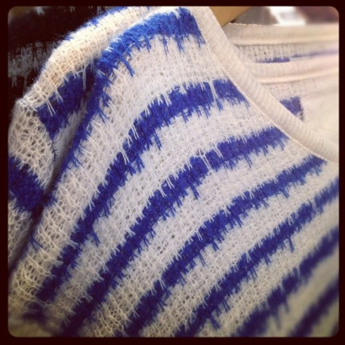 oncewheniwas:  #v::room yummy knits #capsuleny  (Taken with instagram)