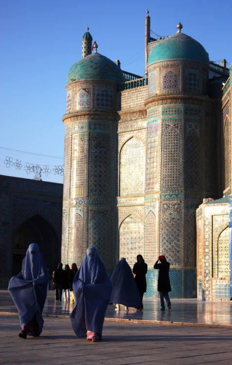 Blue mosque - Mazar-e-sharif Afghanistan.