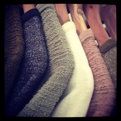 oncewheniwas:  @thewestisdead coolest reversible sweatshirts #capsuleny  (Taken with instagram)
