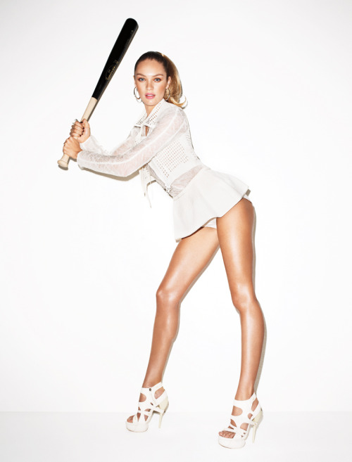 harpersbazaar:  Game on! Terry Richardson, February 2012