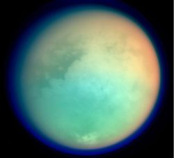 "cwnl:  Saturn's Moon Titan May be More Earth-Like Than Thought Saturn's moon Titan may be more similar to an Earth-like world than previously thought, possessing a layered atmosphere just like our planet, researchers said. Titan is Saturn's largest moon, and is the only moon known to have a dense atmosphere. A better understanding of how its hazy, soupy atmosphere works could shed light on similar ones scientists might find on alien planets and moons. However, conflicting details about how Titan's atmosphere is structured have emerged over the years. The lowest layer of any atmosphere, known as its boundary layer, is most influenced by a planet or moon's surface. It in turn most influences the surface with clouds and winds, as well as by sculpting dunes. ""This layer is very important for the climate and weather — we live in the terrestrial boundary layer,"" said study lead author Benjamin Charnay, a planetary scientist at France's National Center of Scientific Research. Earth's boundary layer, which is between 1,650 feet and 1.8 miles (500 meters and 3 kilometers) thick, is controlled largely by solar heat warming the planet's surface. Since Titan is much further away from the sun, its boundary layer might behave quite differently, but much remains uncertain about it — Titan's atmosphere is thick and opaque, confusing what we know about its lower layers. For instance, while the Voyager 1 spacecraft suggested Titan's boundary layer was about 2 miles (3.5 km) thick, the Huygens probe that plunged through Titan's atmosphere saw it as only about 1,000 feet (300 m) thick. To help solve these mysteries about Titan's atmosphere, scientists developed a 3D climate model of how it might respond to solar heat over time. ""The most important implication of these findings is that Titan appears closer to an Earth-like world than once believed,"""