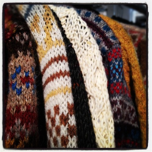 oncewheniwas:  Great knits @howlin'byMorrison #capsuleny  (Taken with instagram)