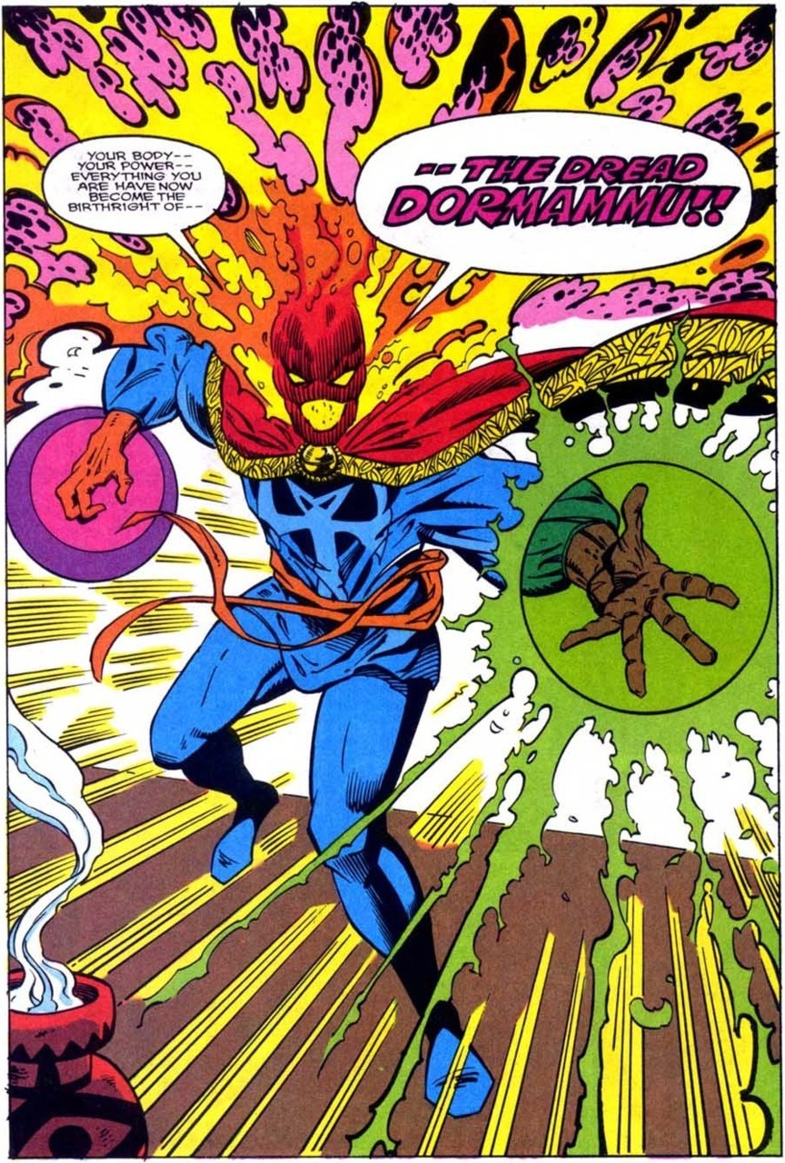 dormammu: most badass-looking villain in the marvel universe?