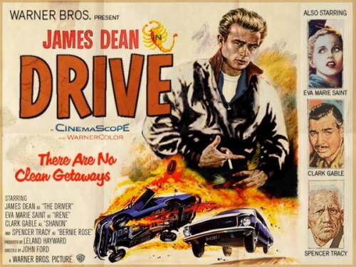 A 'Drive' poster if would it be made circa 1953. Cool.
