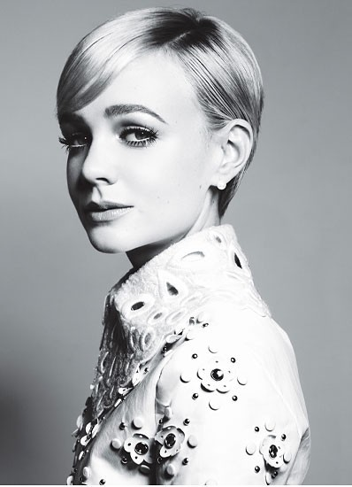 (via Girls in Black & White / Carey Mulligan in W)