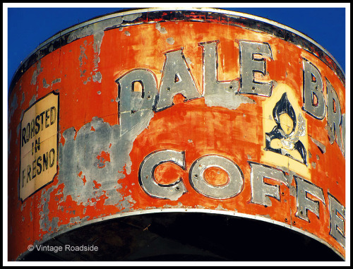 Dale Brothers Coffee - Fresno, California. Image © Vintage Roadside