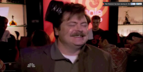 Infinite Drunk Ron Swanson via Ryan O'Donnell