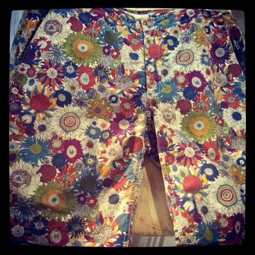 oncewheniwas:  Raddest liberty print for @onia #capsuleny  (Taken with instagram)
