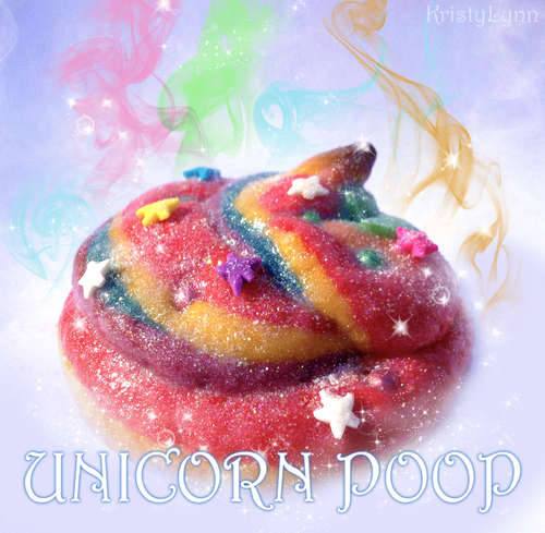 Unicorn poop http://www.instructables.com/id/Unicorn-Poop/