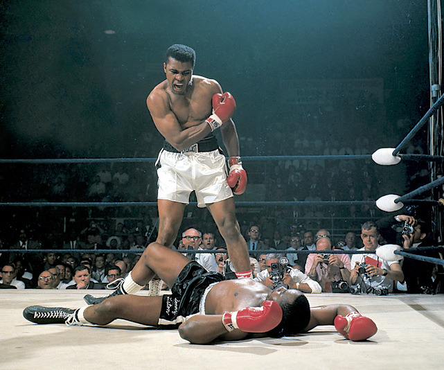 Muhammad Ali stands over Sonny Liston after knocking him out in the first round of their 1965 fight. Ali turns 70 today. (Neil Leifer/SI) GALLERY: Classic Photos of Muhammad Ali | Ali at 70VIDEO: Boxing historian Bert Sugar on greatness of AliSI VAULT: Ali beats Frazier in Manilla (10.13.75)