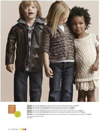 EDITORIAL Down syndrome: A model ad - Two retailers are rightly earning praise for including six-year-old Ryan Langston, who has Down syndrome, in photo shoots - and not making a big deal about it.