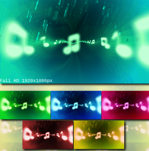 Music Is My Life Wallpapers Pack by ~LoversHorizon