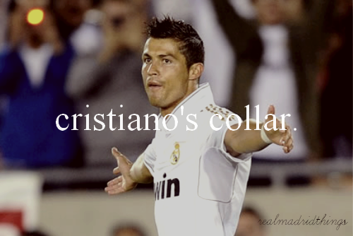 Real Madrid Things — #75 Cristiano's Collar; submitted by anon.