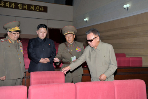 kimjongillookingatthings:  looking at a theatre seat