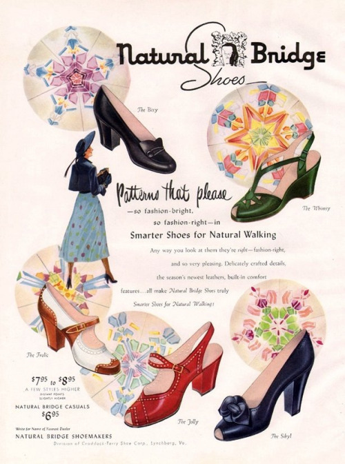 Natural Bridge Shoes 1950