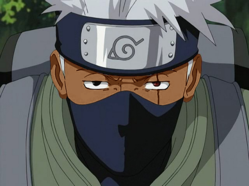 "black-naruto:  ""In the nigga world, those who obey the police are bitches, but those who snitch on they homies to the police is even worse than bitches."" - Hatake Kakashi"