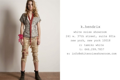 k hendrix spring 2012 - avail now!  sexy-sequined grunge  #getsome