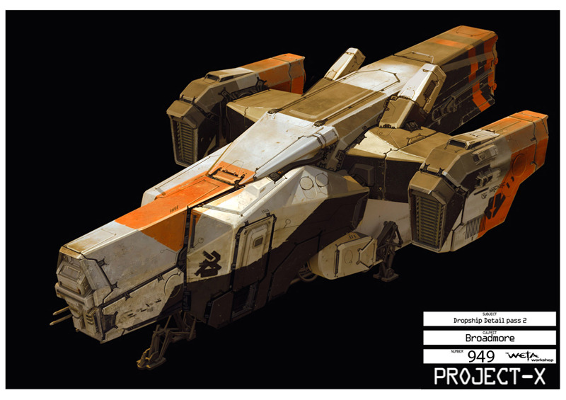 District 9 Dropship