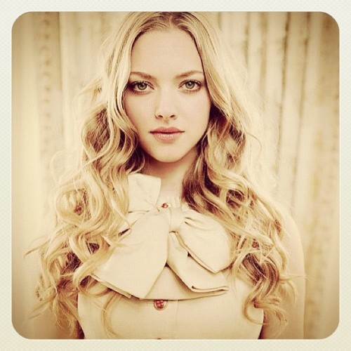 "I love her so much when I watched the movie ""letters to Juliet"" ❤❤❤ #Amanda#seyfried#lettertojuliet#actress (Taken with instagram)"