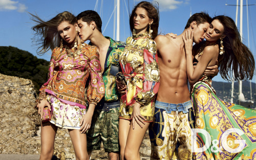 dolcegabbana:  D&G spring/summer 2012 advertising campaign.