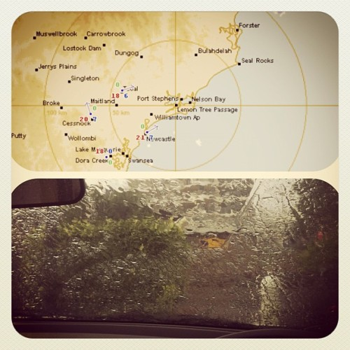 Dear BOM, think your radars are a little off? (Taken with instagram)