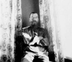 hisimperialhighness:  tsar nicholas in the imperial bedroom of the alexander palace