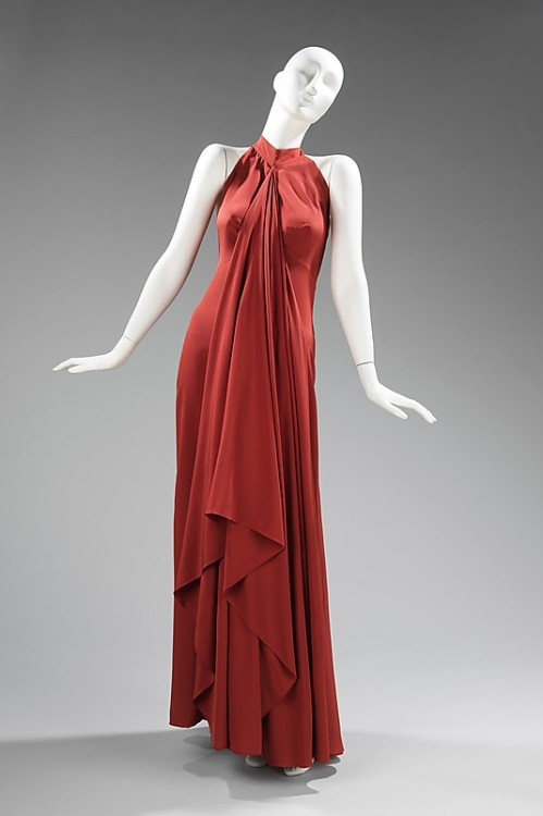 Evening Dress Madame Grès, 1974 The Metropolitan Museum of Art