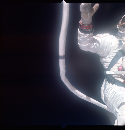 Major Aldrin Extra Vehicular Activity, Gemini XII