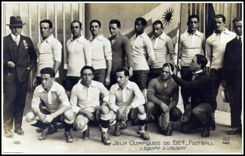 footysphere:  Uruguay - 1924 Olympic football Champions