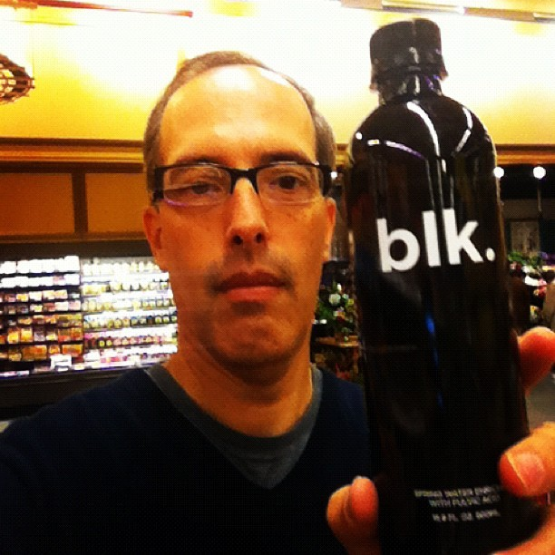Mr. Steve Garfield finds black water?