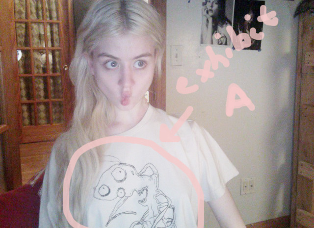 My Gube Flu shirt came today ᒓᴥᒔ