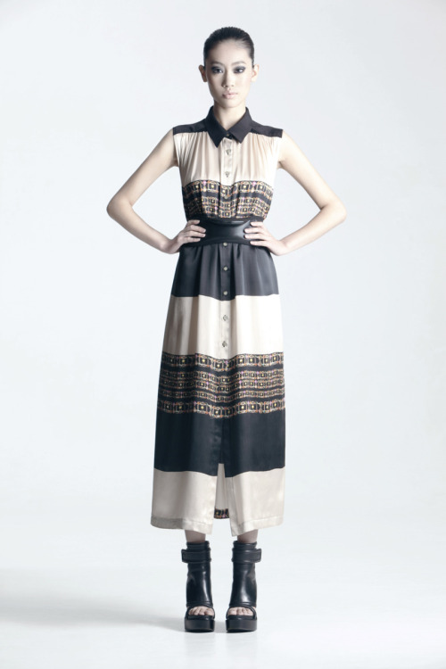 cc kuo spring/summer 2012 - the black stripe.
