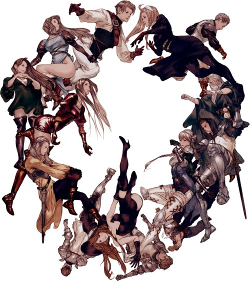 dieneuejugend:  TACTICS OGRE . Akihiko Yoshida   Such a great game. Intense atmosphere.