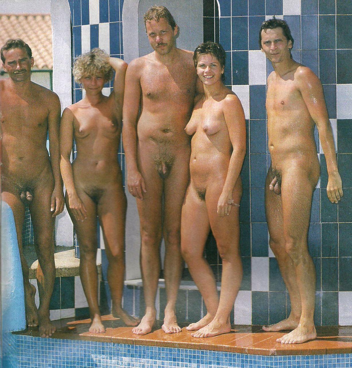 Fkk nudist family naked