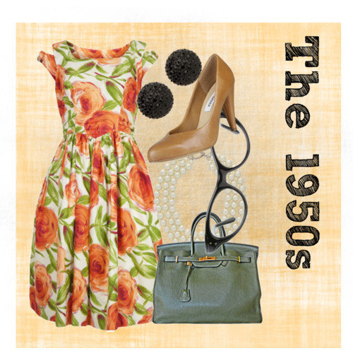 The 1950's by agespo featuring vintage dresses