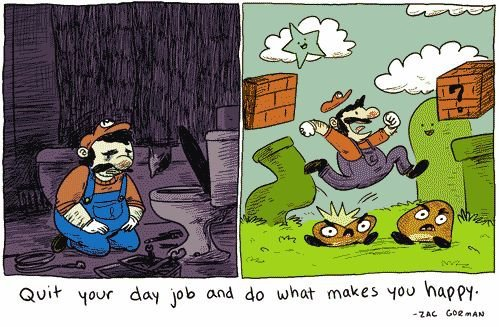 Feeling unfulfilled? We think Zac Gorman and Super Mario hit the nail on the head in this comic.