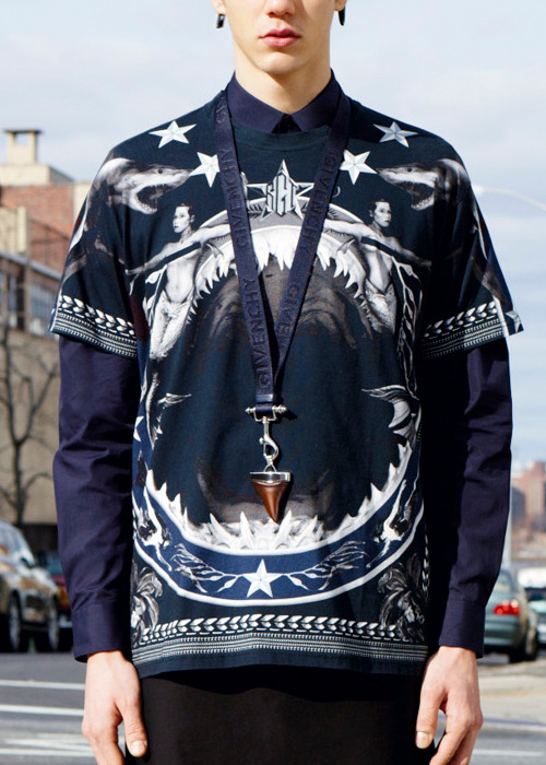 les-nyc:  Givenchy's pre-fall 2012 collection.