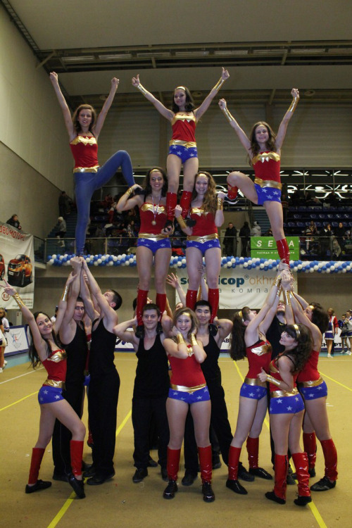baddie:  Russian cheerleaders, you're the best.