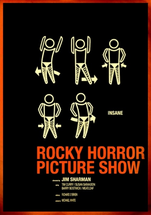 Probably the coolest Rocky Horror Picture Show poster that i've seen!