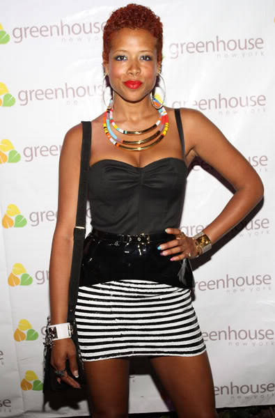 FASHIONABLY COLORFUL!…We love KELIS! - Look at how hot the necklaces are too!